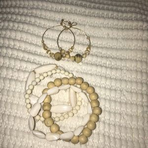 Jewelry - COPY - Earring and bracelet set